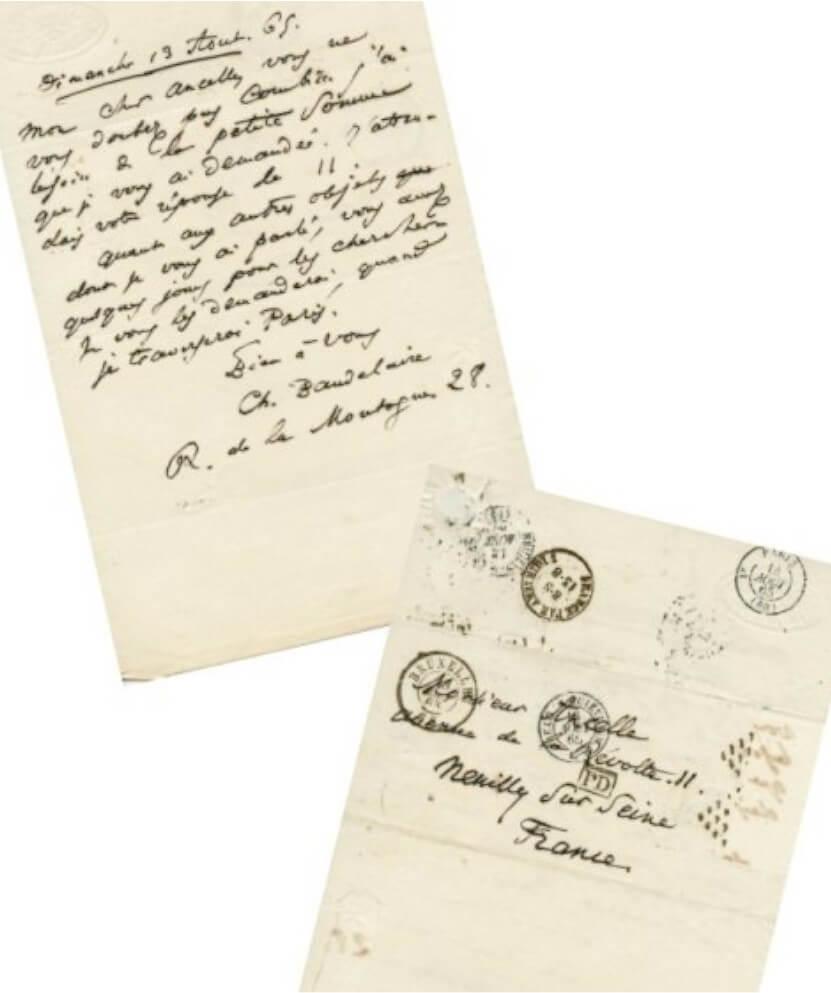 Baudelaire aan Narcisse Ancelle. Brussel, zondag 13 augustus 1865. Vertalingen Vivienne Stringa