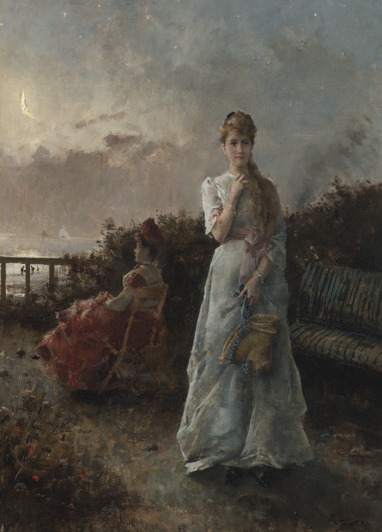 Alfred Stevens. 1834-1933.  Baudelaire. Madame Aupick. Vertalingen Vivienne Stringa