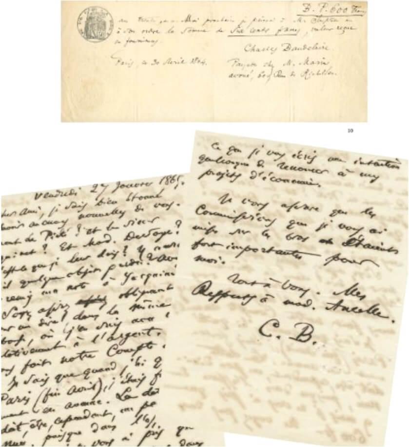 Baudelaire aan Narcisse Ancelle. vrijdag 27 januari 1865. Vertalingen Vivienne Stringa