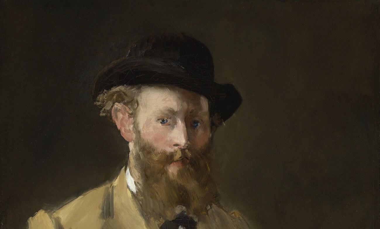 Édouard Manet. Autoportrait à la palette. Baudelaire. Brieven aan zijn moeder.Vertalingen Vivienne Stringa