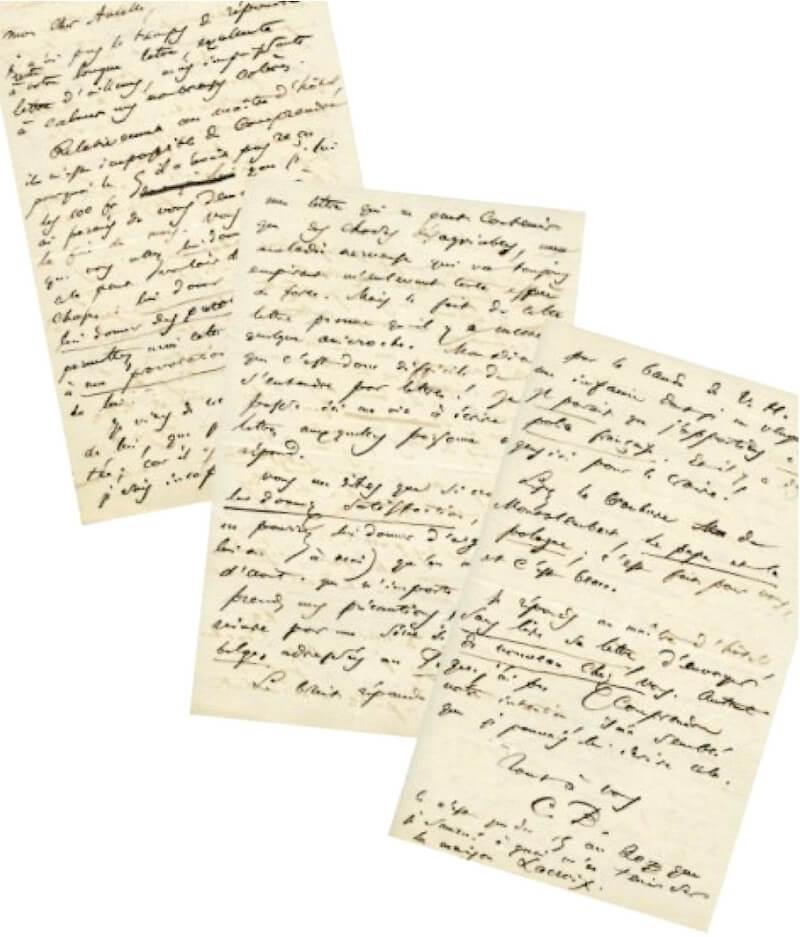 Brussel, ongeveer 10 juni 1864.Aan Narcisse Ancelle. Vertalingen Vivienne Stringa