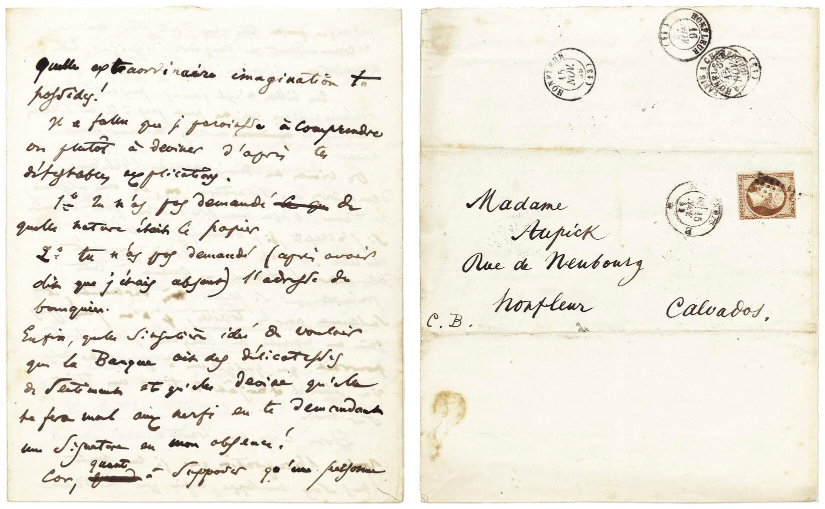Baudelaire aan Madame Aupick. Parijs, 15 november 1859.  Vertalingen Vivienne Stringa