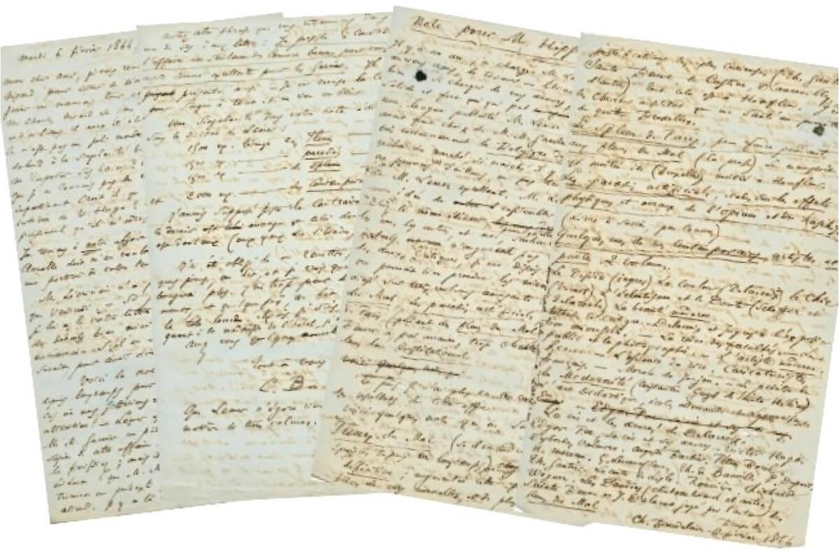 Baudelaire: België, aan Narcisse Ancelle. 6 februari 1866.  Vertalingen Vivienne Stringa