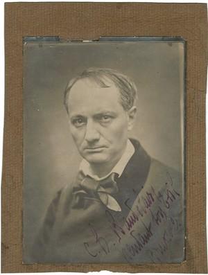 Charles Baudelaire, Carjat, Etienne (1828-1906) : « Ch. Baudelaire pendant son exil Bruxelles » Franse literaire teksten Vertalingen Vivienne Stringa.