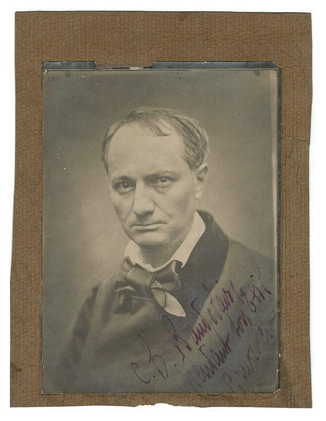 Charles Baudelaire, Les Fleurs du Mal. Paris, Poulet-Malassis et de Broise, 1857. Franse literaire teksten Vertalingen Vivienne Stringa.