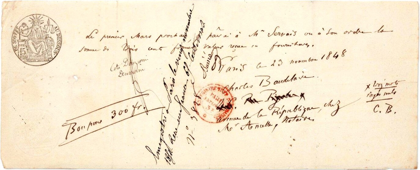Inhoudsopgave. Correspondentie Charles Baudelaire, eerste deel volwassen periode. Vivienne Stringa