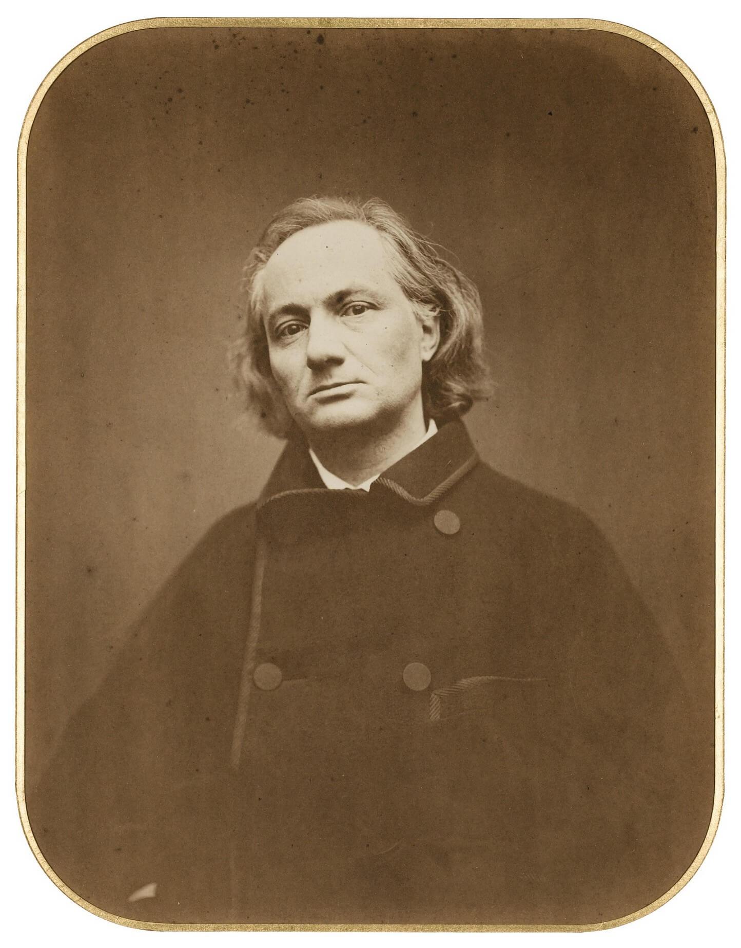 Etienne Carjat. Charles Baudelaire, zijn jeugd. Inhoudsopgave, vertalingen Vivienne Stringa
