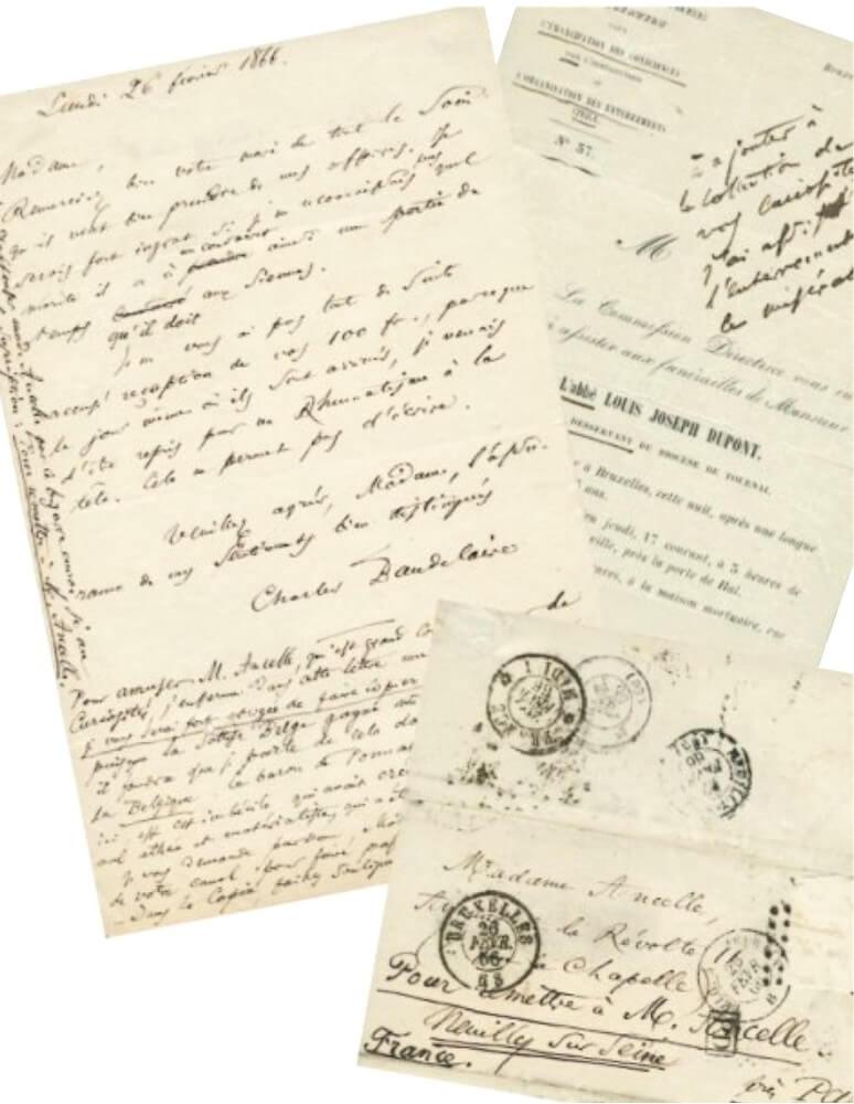 Baudelaire aan  Mme Ancelle. Brussel, 26 februari 1866.  Vertalingen Vivienne Stringa