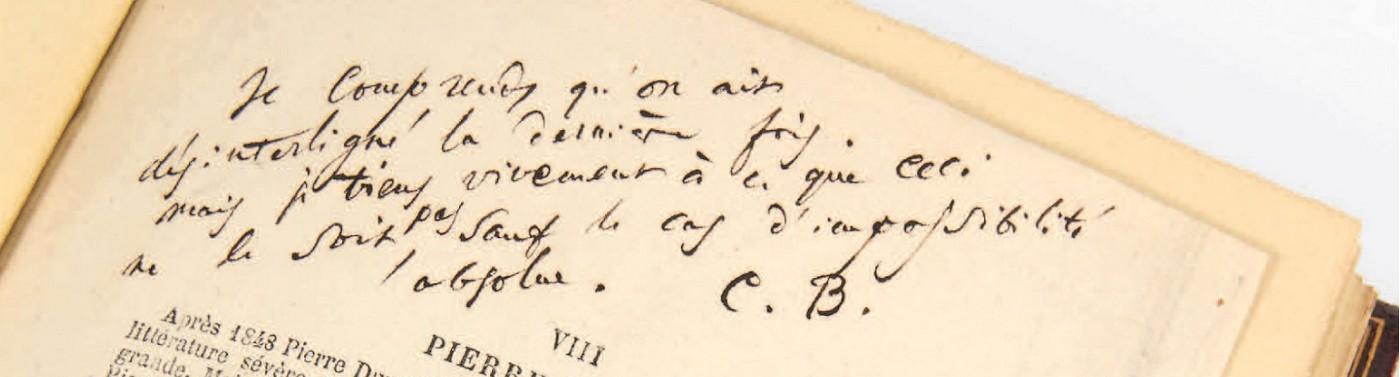 Inhoudsopgave. Correspondentie Charles Baudelaire, tweede deel volwassen periode. Vivienne Stringa