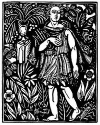 Guillaume Apollinaire,Le Bestiaire, Orpheus.Kijk die smerige groep. De gedichten uit le Bestiaire, het Bestiarium, zijn geïllustreerd met houtgravures van Raoul Dufy, Vertalingen, Vivienne Stringa