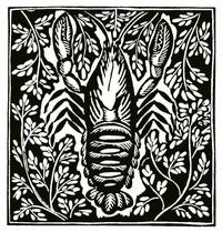 Guillaume Apollinaire,Le Bestiaire, De rivierkreeft. De gedichten uit le Bestiaire, het Bestiarium, zijn geïllustreerd met houtgravures van Raoul Dufy, Vertalingen, Vivienne Stringa