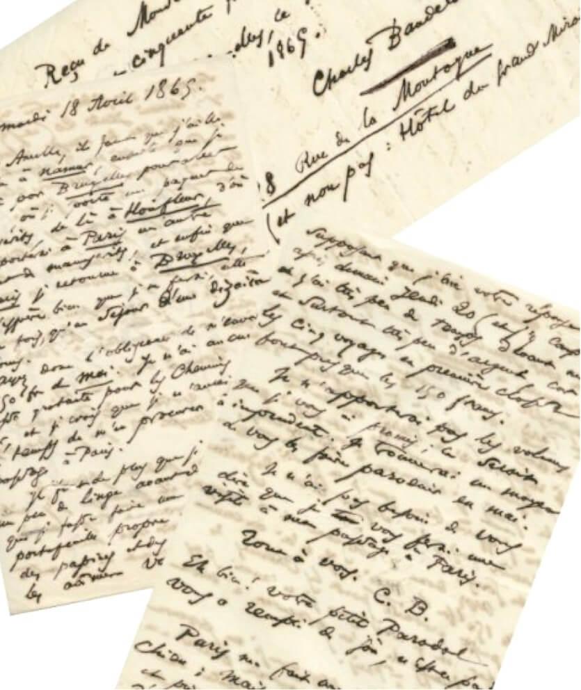 Baudelaire:  België. aan Narcisse Ancelle, 18 april 1865.  Vertalingen Vivienne Stringa