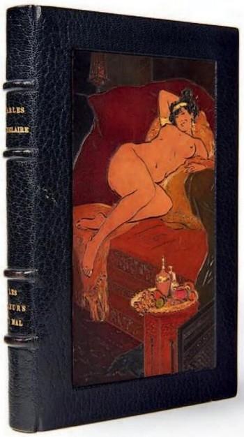 Charles Baudelaire, Les Fleurs du Mal. Paris, Poulet-Malassis en de Broise, 1857. Franse literaire teksten Vertalingen Vivienne Stringa.