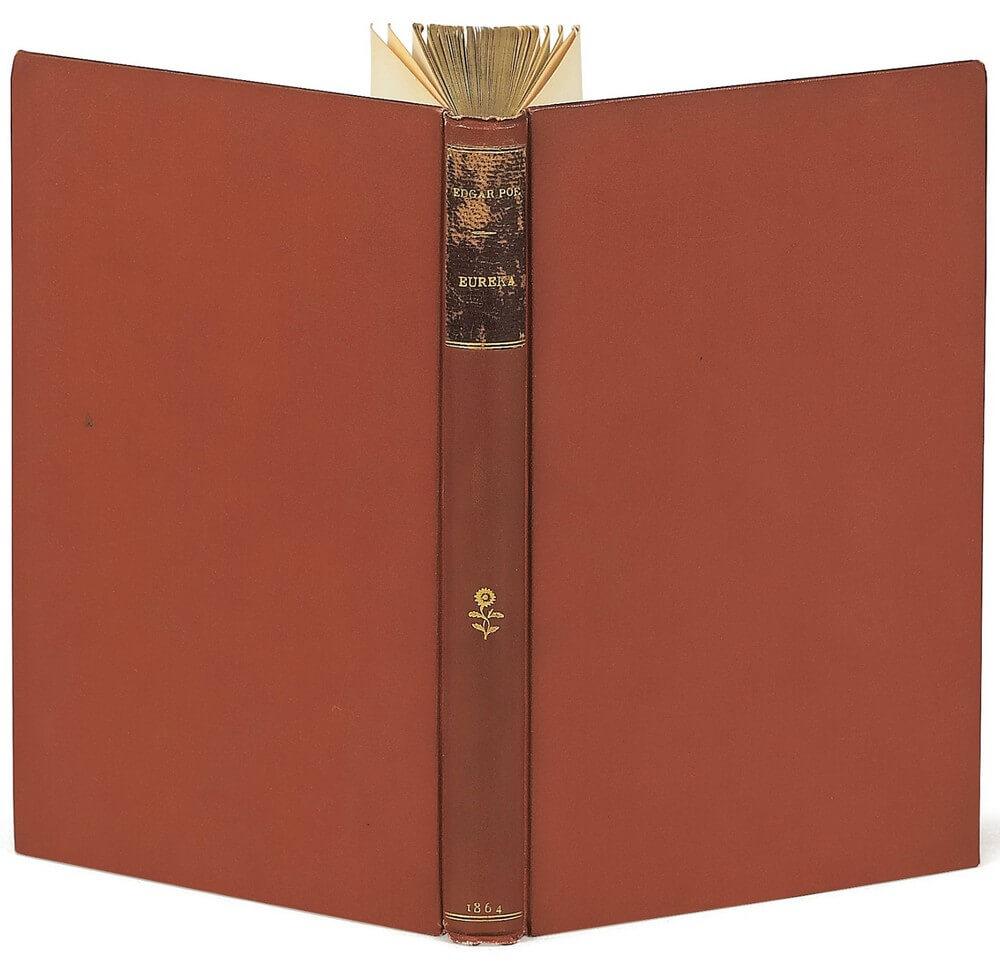 Edgar Poe. Eurêka. Charles Baudelaire. Paris, Michel Lévy frères, 1864. Vertalingen Vivienne Stringa.
