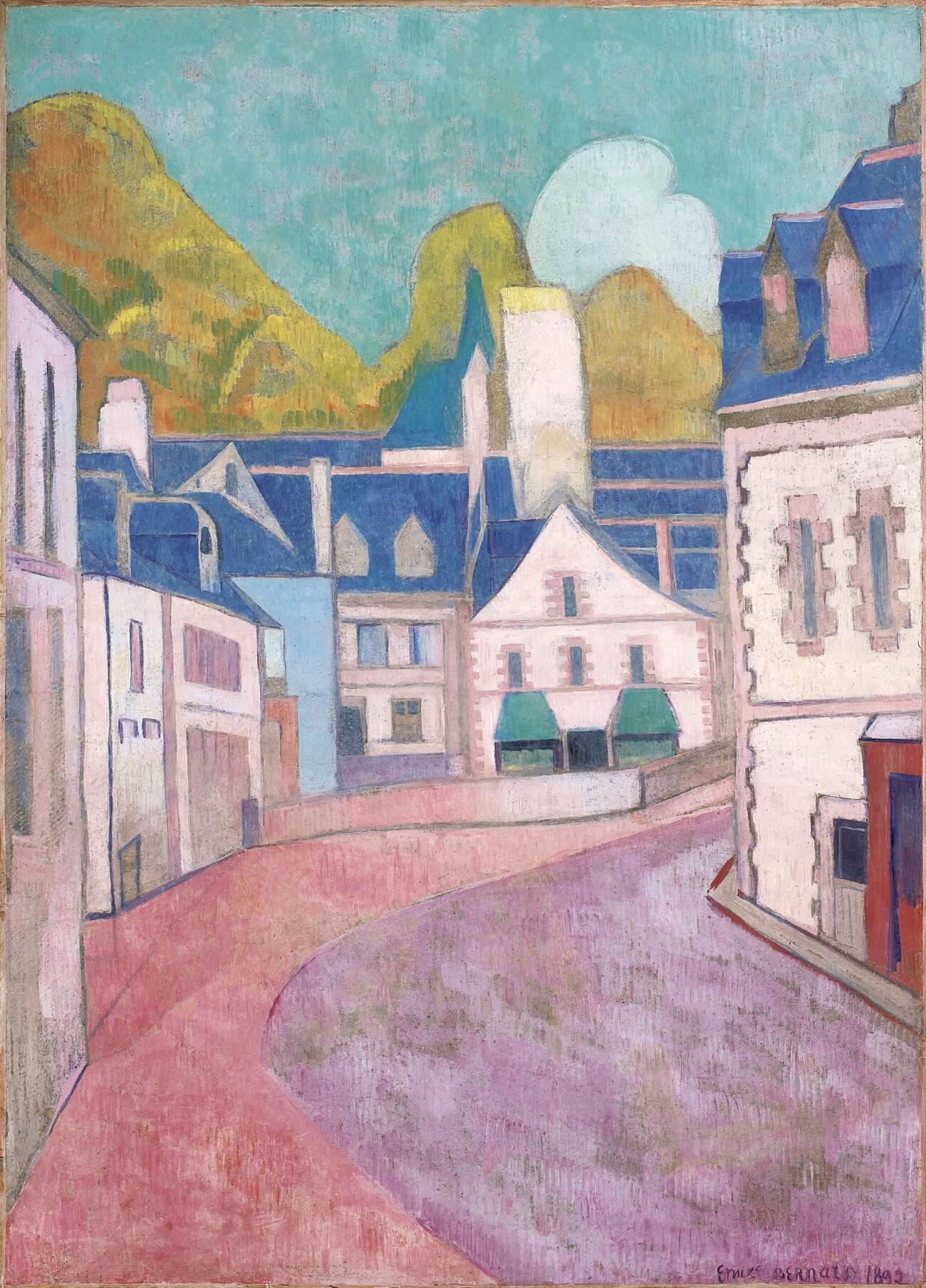 Émile Bernard, 1868 - 1941. Pont-Aven.  Baudelaire. Madame Aupick. Vertalingen Vivienne Stringa