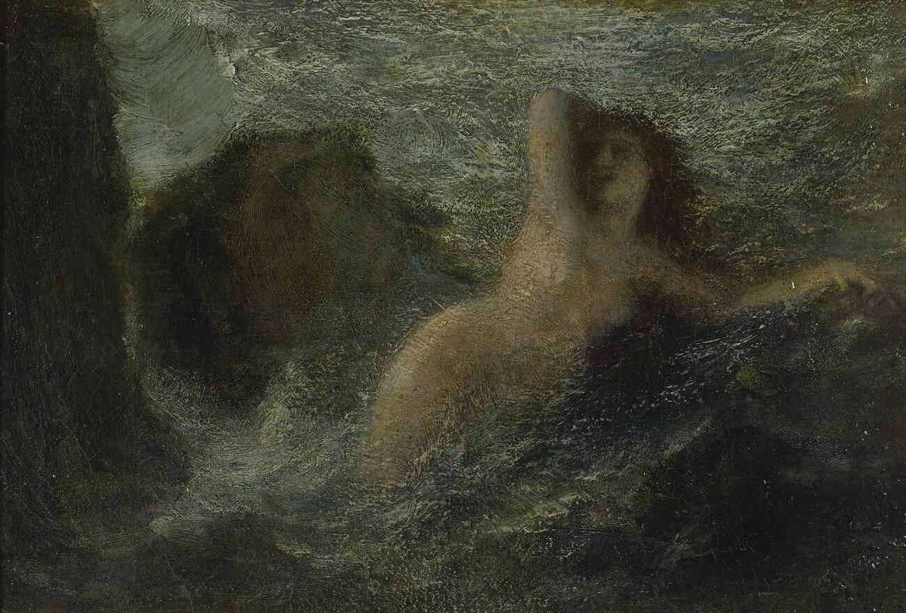 Henri Fantin-Latour, (1836-1904). Ondine, 1897.Baudelaire. Brieven aan zijn moeder.Vertalingen Vivienne Stringa