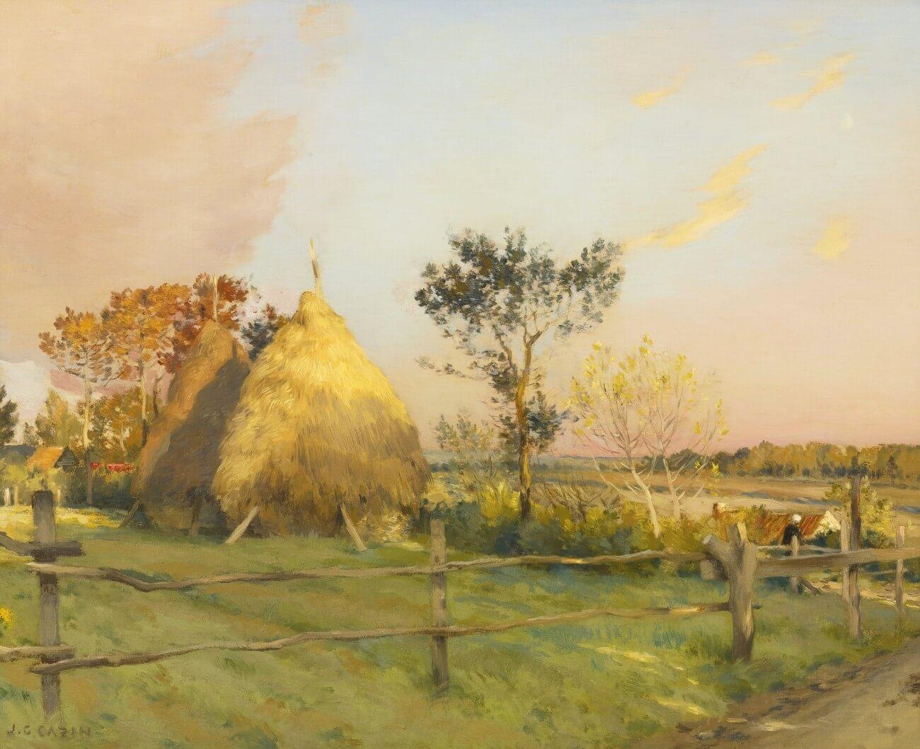 Jean-Charles Cazin (1841 - 1901) Les meules, Équihen. Baudelaire. Brieven aan zijn moeder.Vertalingen Vivienne Stringa