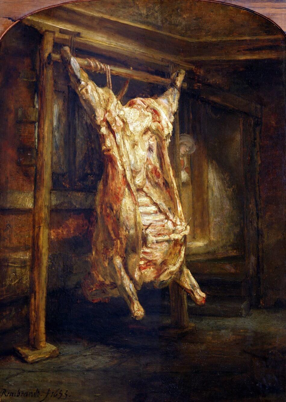 Lamartine. Mon horreur des bouchers. Mijn afschuw van slagers.  Vertaling Alphonse de Lamartine. Vertalingen Vivienne Stringa