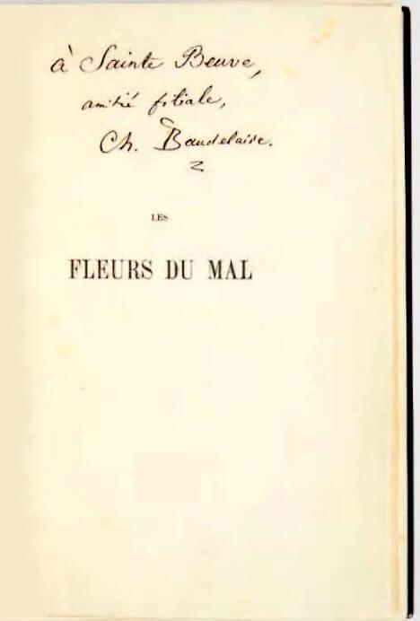 Charles Baudelaire Marcel Proust Contre Sainte Beuve