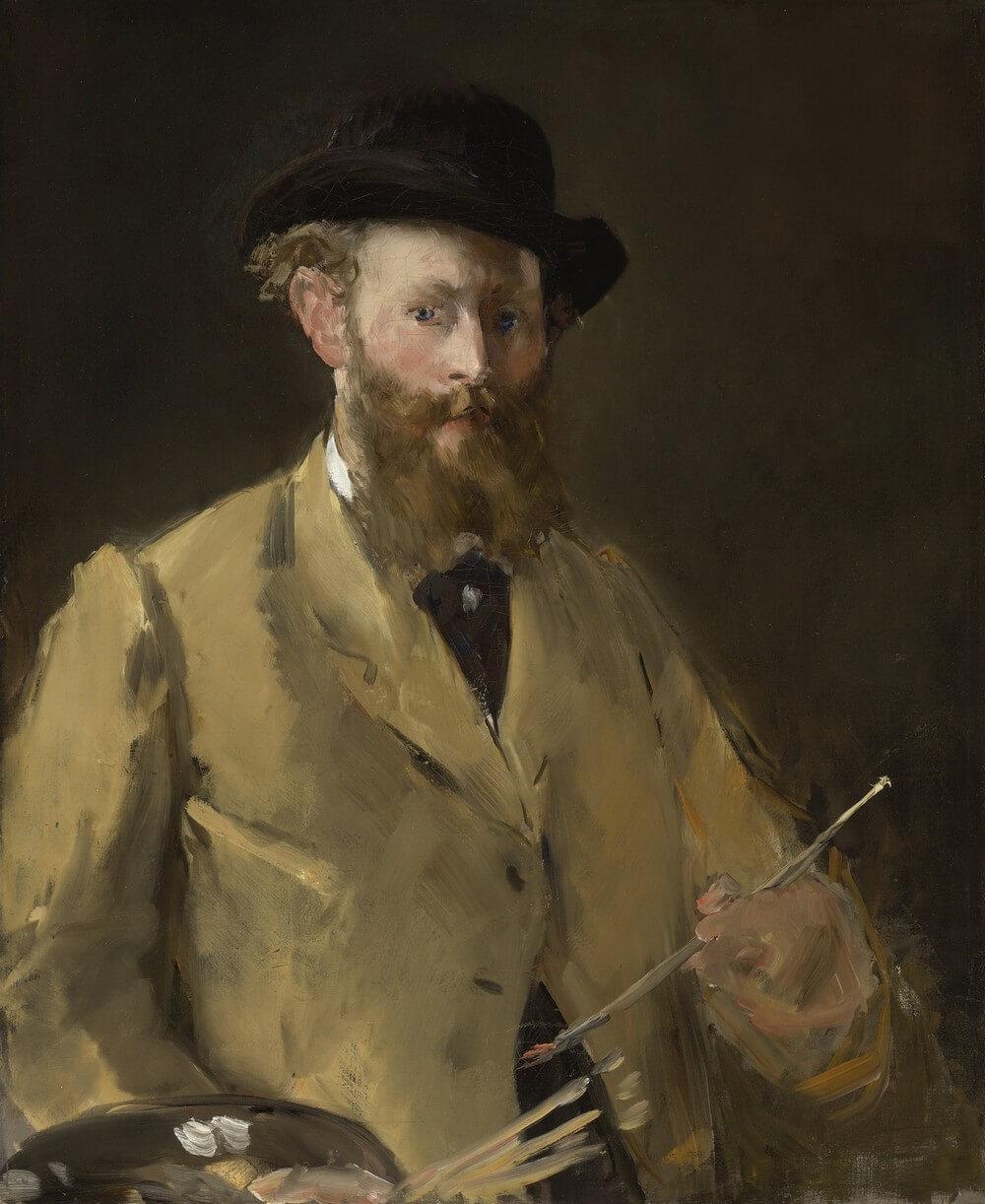 Édouard Manet. Autoportrait à la palette.  Baudelaire. Madame Aupick. Vertalingen Vivienne Stringa
