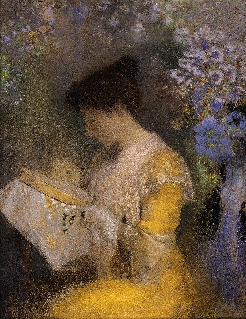 Odilon Redon 1840–1916.  Baudelaire. Madame Aupick. Vertalingen Vivienne Stringa