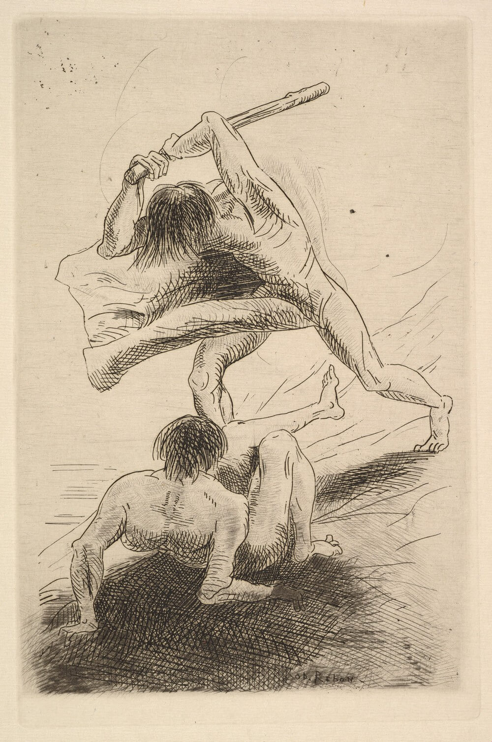 Odilon Redon. Abel et Caïn. 1886. Baudelaire. Madame Aupick. Vertalingen Vivienne Stringa