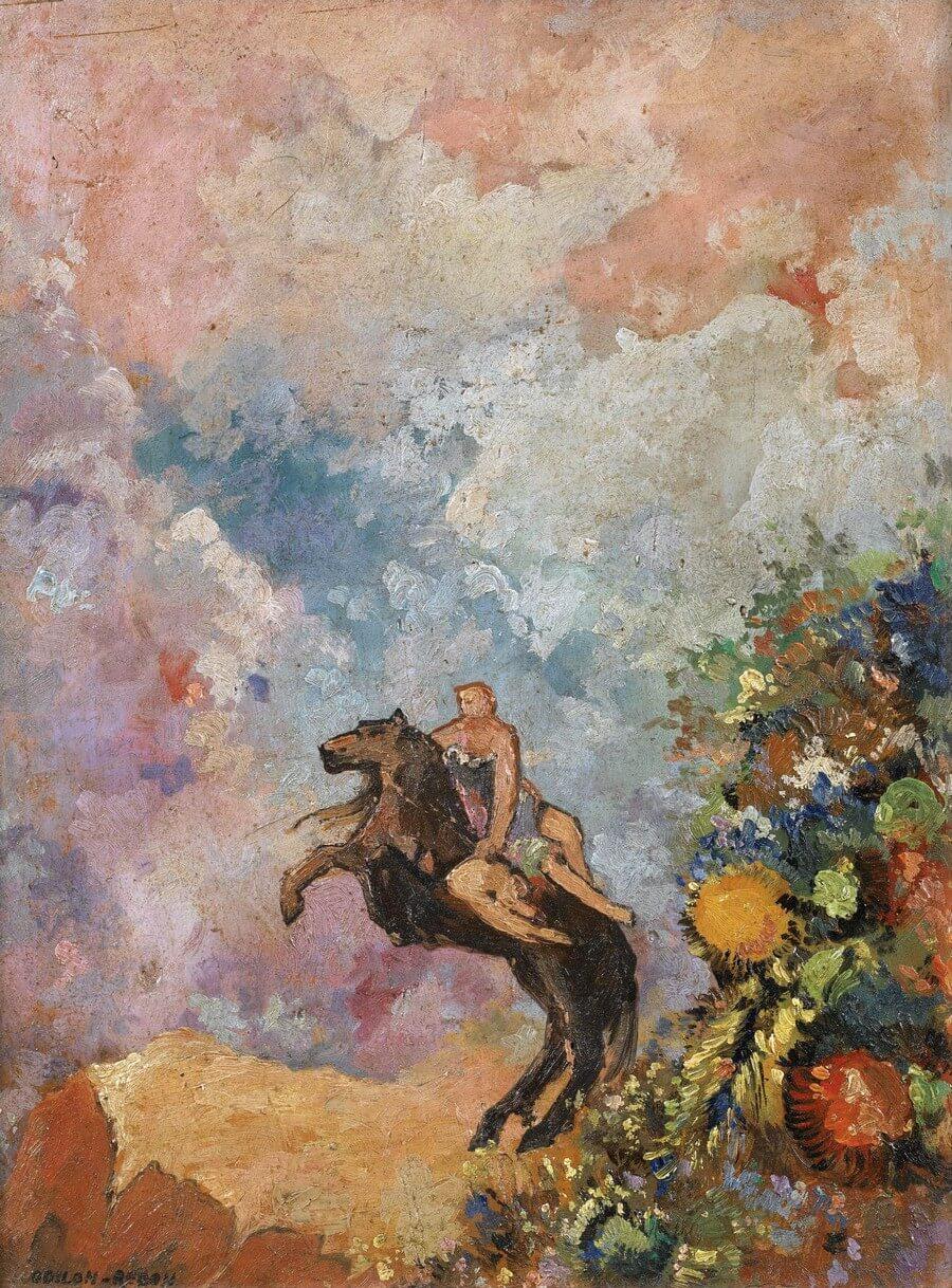 Odilon Redon. Pégase et la muse. Baudelaire. Madame Aupick. Vertalingen Vivienne Stringa