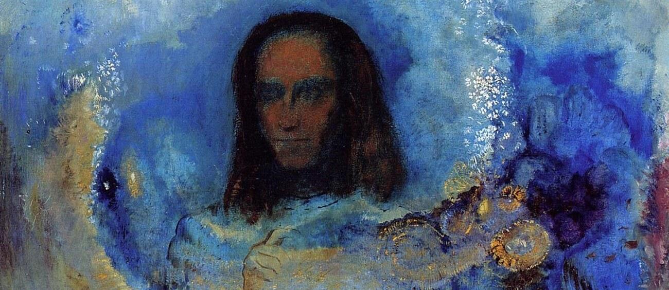De hel, dat zijn de anderen. Odilon Redon, 1840-1916. Vertalingen Vivienne Stringa.