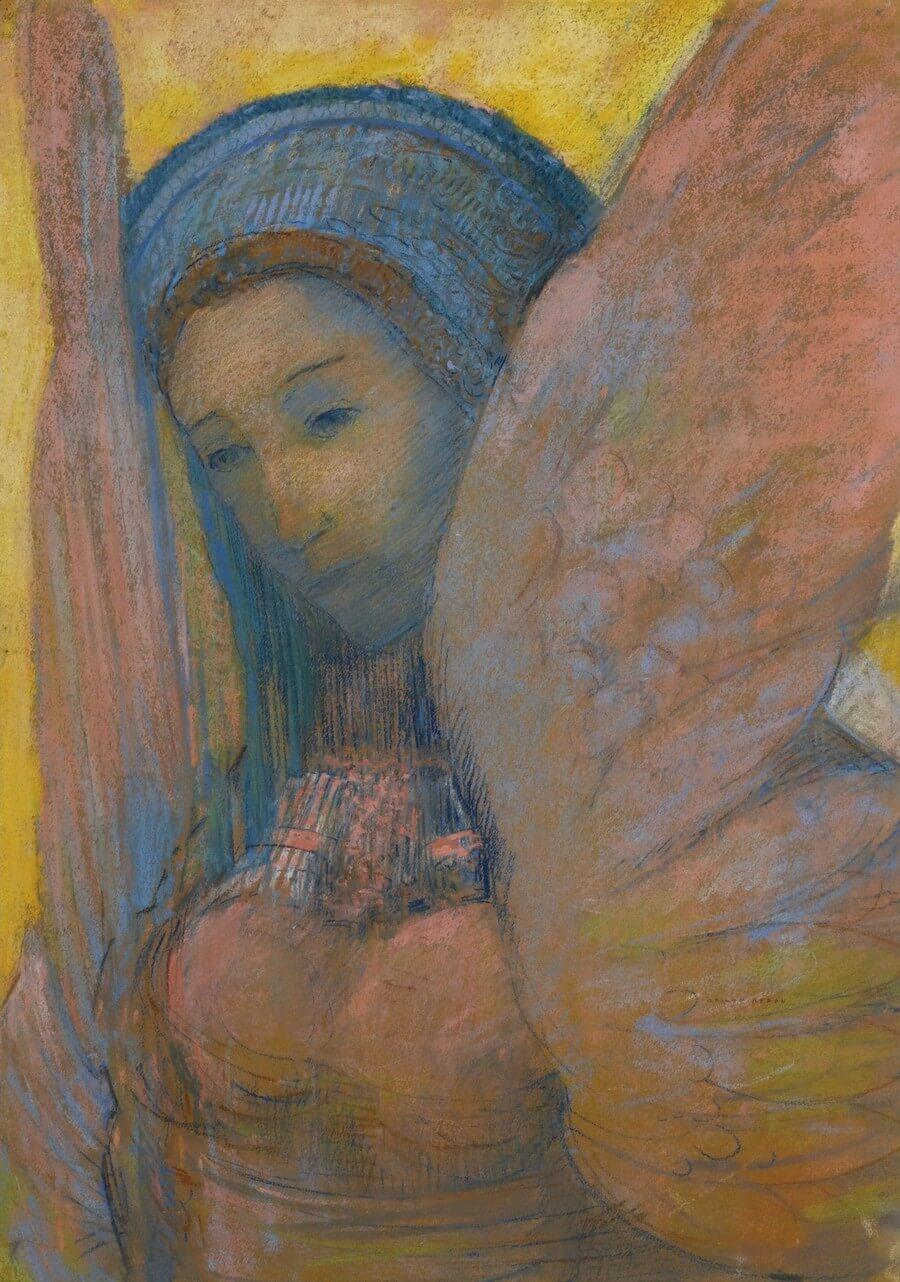 Odilon Redon. Sphinx. Baudelaire. Madame Aupick. Vertalingen Vivienne Stringa