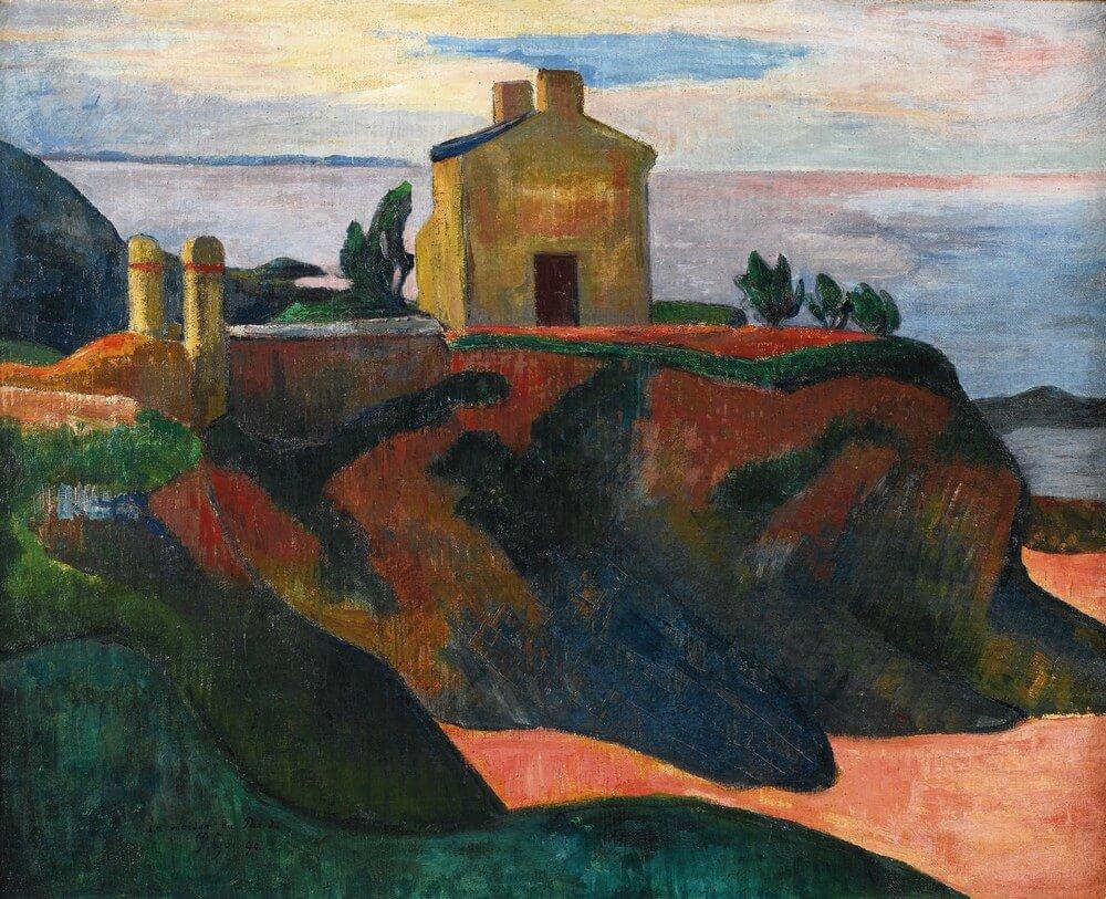 Paul Gauguin 1848 - 1903. La maison du pendu. Baudelaire. Madame Aupick. Vertalingen Vivienne Stringa