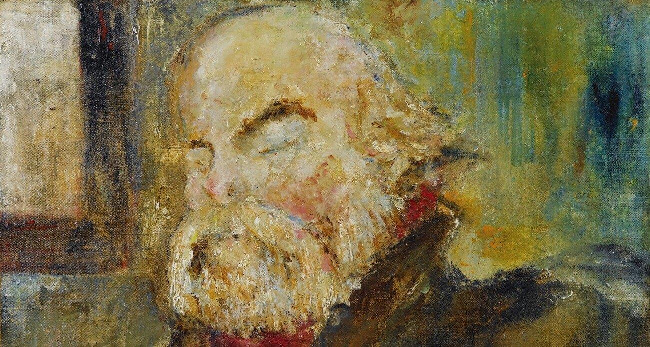 Paul Verlaine. 1893.Vertaling Voorwoord van Léo Ferré in de dichtbundel van Paul Verlaine Les poèmes saturniens, Vivienne Stringa