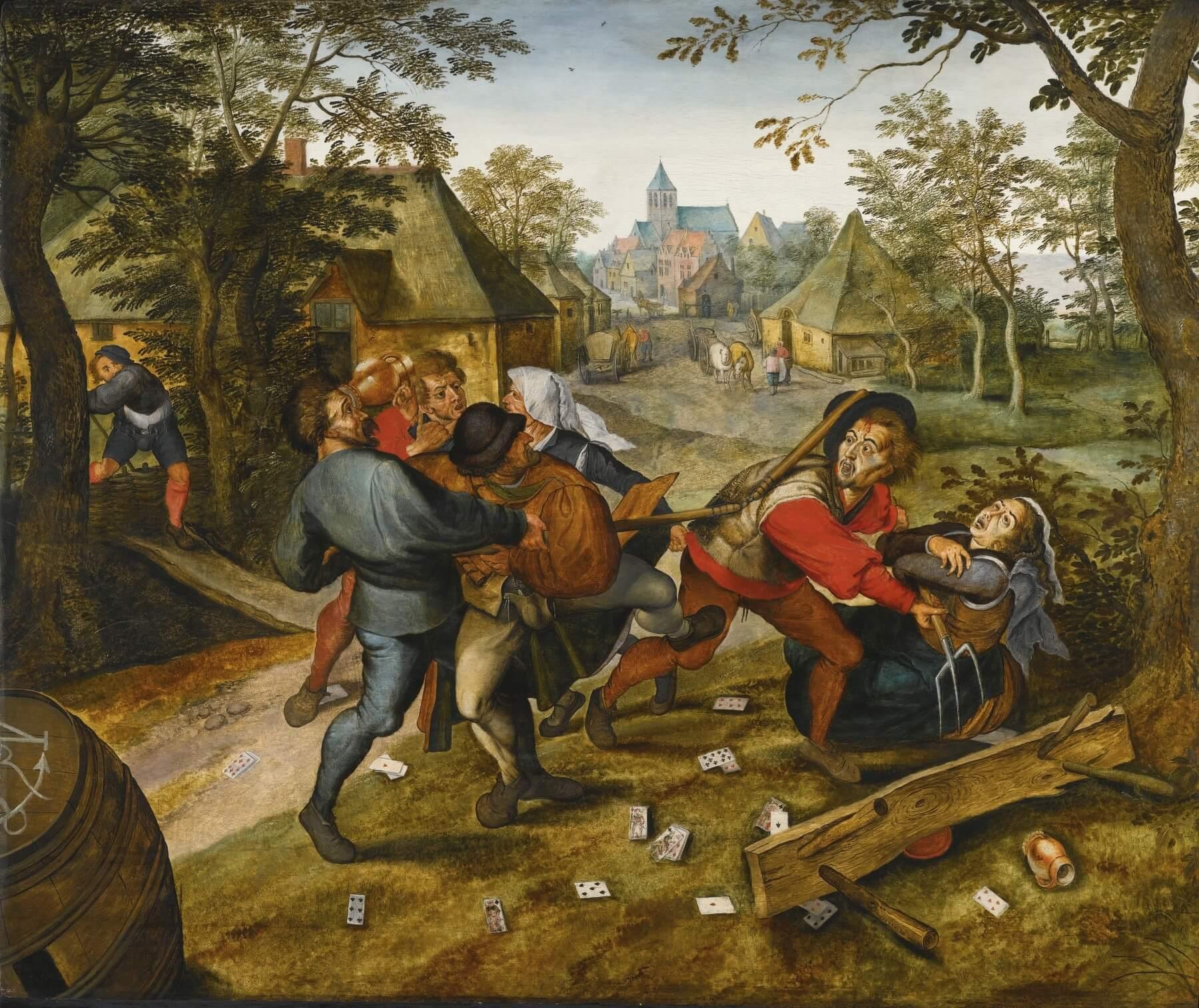 Pieter Brueghel de jonge.Correspondentie Charles Baudelaire :  Brussel, België. Aan Poulet-Malassis. Ongeveer 1 maart 1865. Vertaling correspondentie Baudelaire, Vivienne Stringa