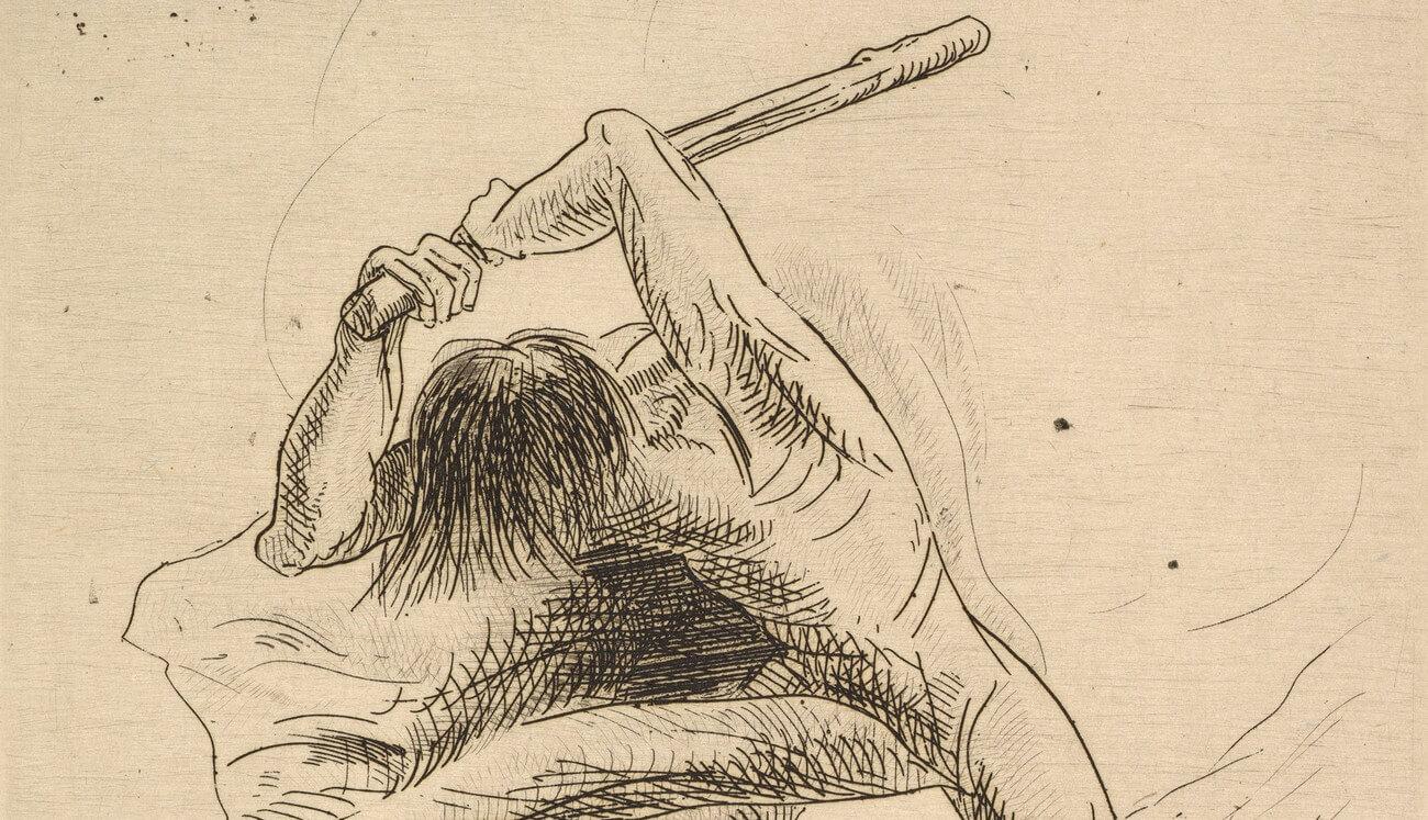 Odilon Redon. Abel et Caïn. 1886. Baudelaire. Brieven aan zijn moeder.Vertalingen Vivienne Stringa