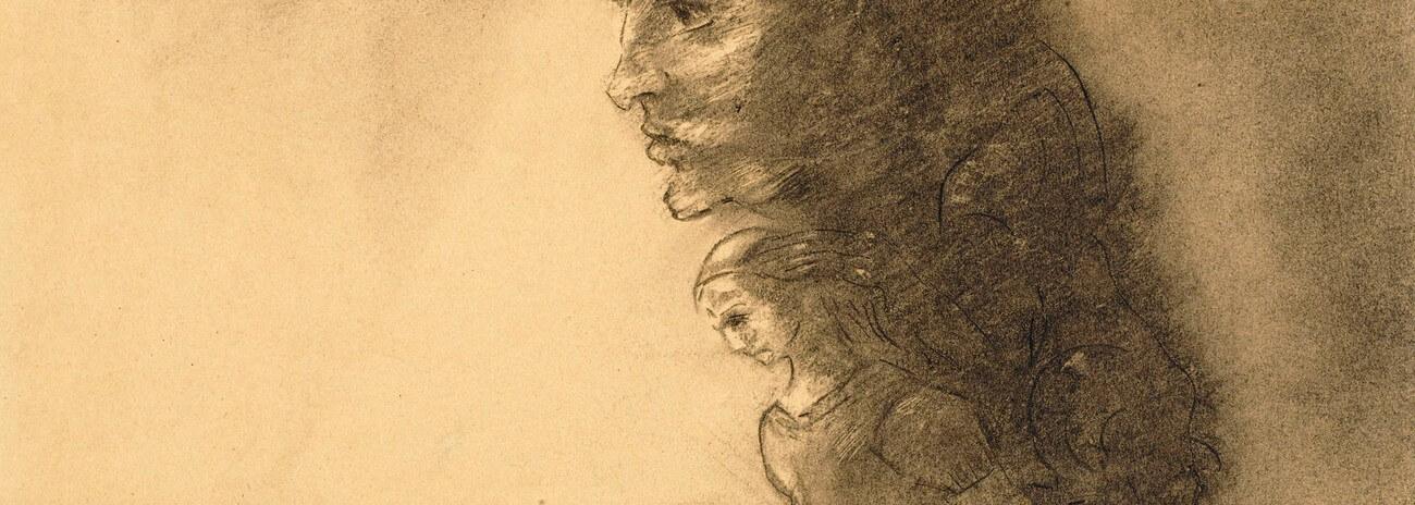 Odilon Redon. La conscience.   Baudelaire. Brieven aan zijn moeder.Vertalingen Vivienne Stringa