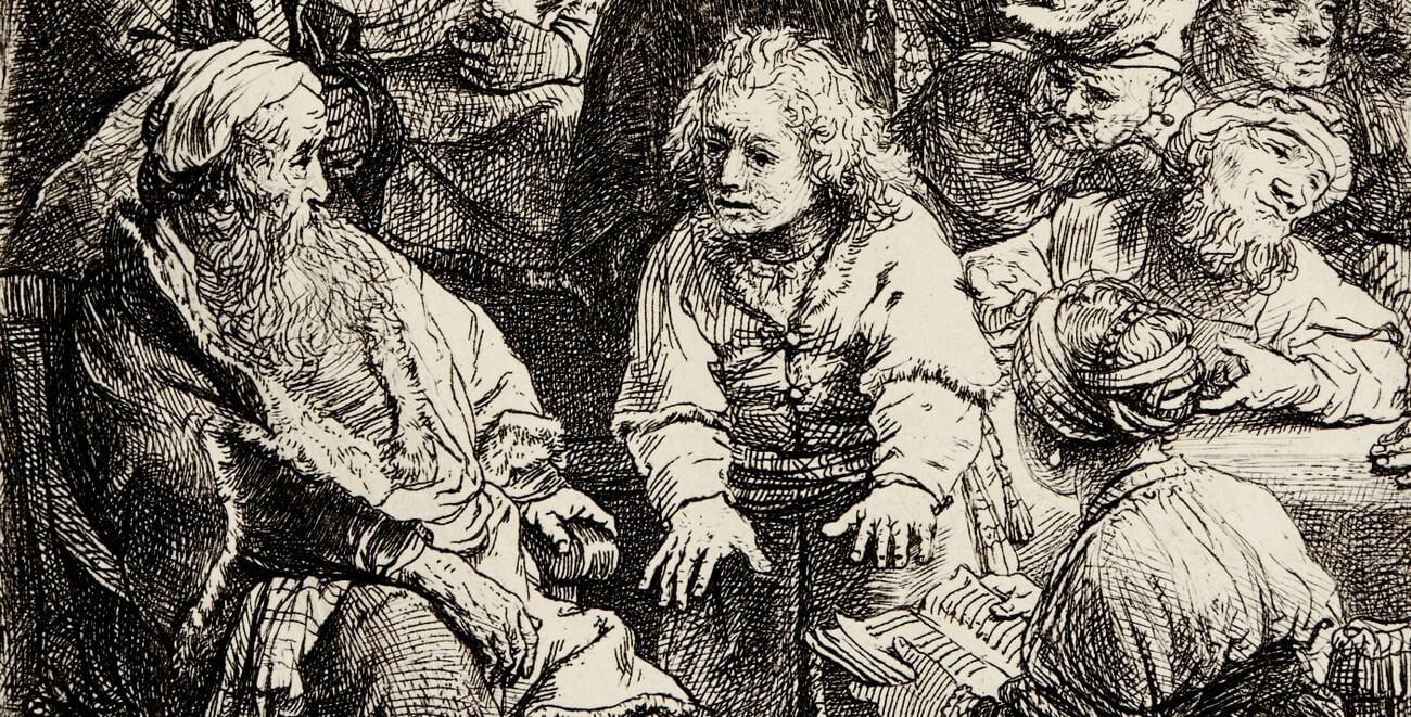 Rembrandt. Joseph racontant ses songes. Baudelaire. Brieven aan zijn moeder.Vertalingen Vivienne Stringa