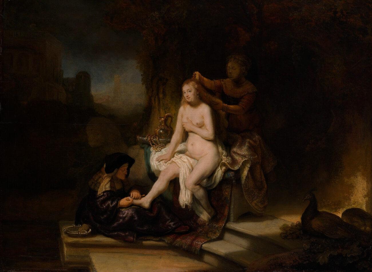 Rembrandt. La toilette de Bethsabée, 1643. Baudelaire. Brieven aan zijn moeder. Vertalingen Vivienne Stringa