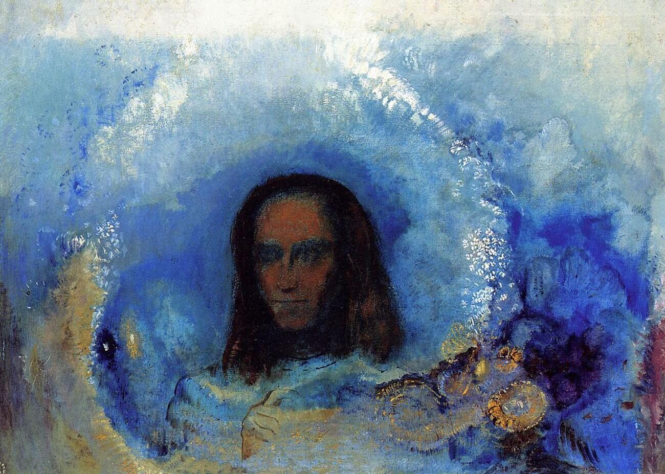 Jean-Paul Sartre. De hel, dat zijn de anderen. Odilon Redon, 1840-1916. Vertalingen Vivienne Stringa.