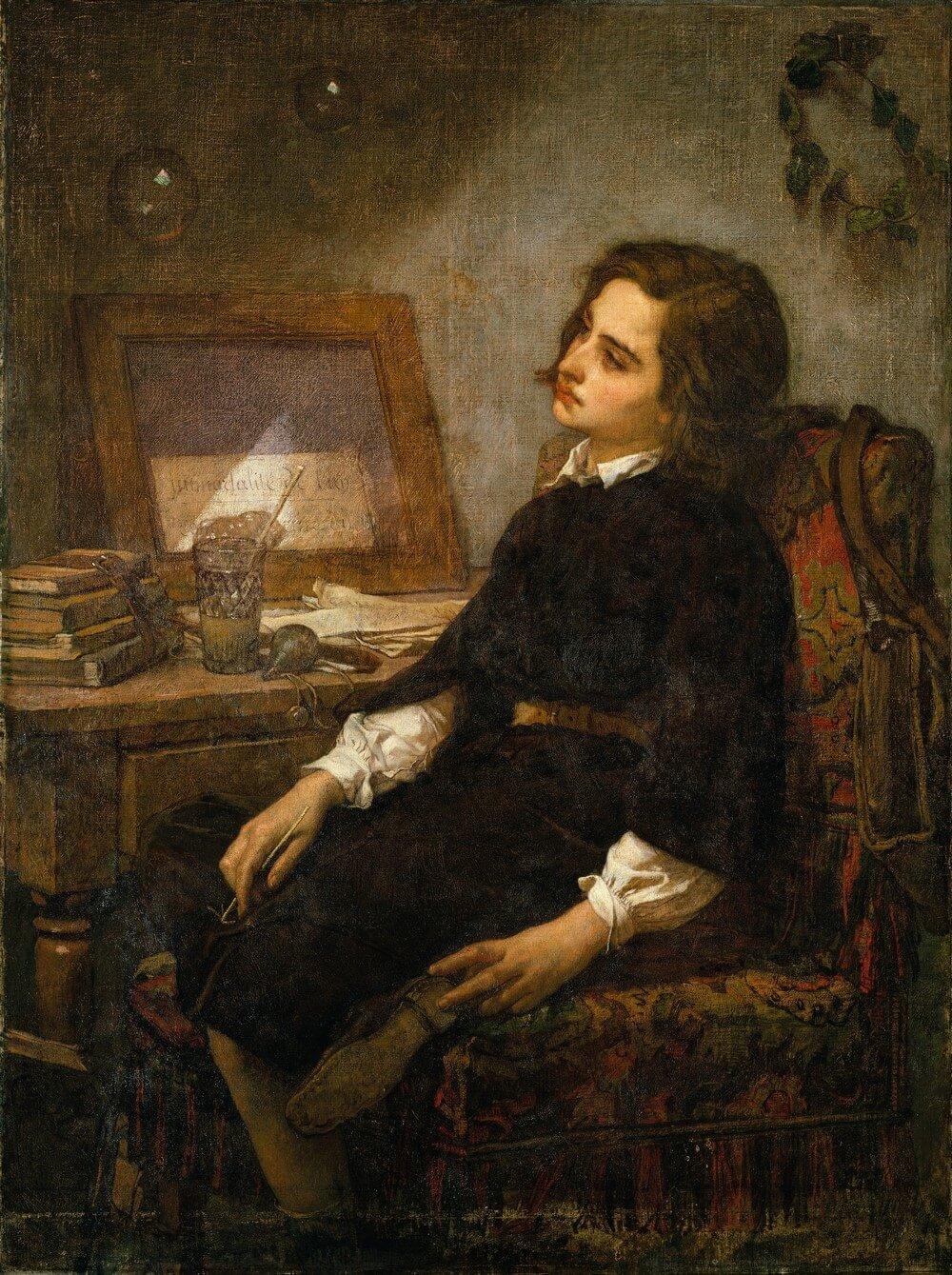 Thomas Couture. Baudelaire. Madame Aupick. Vertalingen Vivienne Stringa