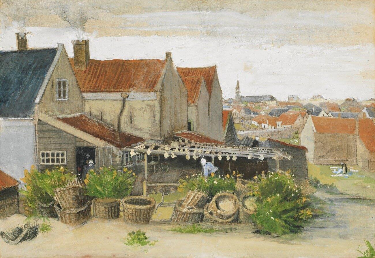 Vincent van Gogh, 1853–1890 Scheveningen. Baudelaire. Madame Aupick. Vertalingen Vivienne Stringa