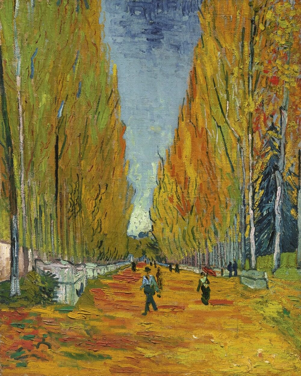 Vincent van Gogh, 1853–1890 Les Alyscamps. Baudelaire. Madame Aupick. Vertalingen Vivienne Stringa