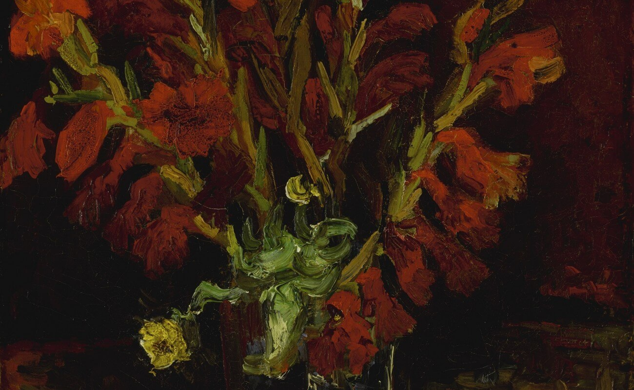 Vincent van Gogh, 1853–1890.Vase aux glaïeuls. Baudelaire. Brieven aan zijn moeder.Vertalingen Vivienne Stringa